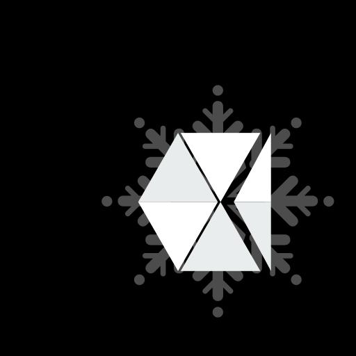 ball, christmas, vsco icon