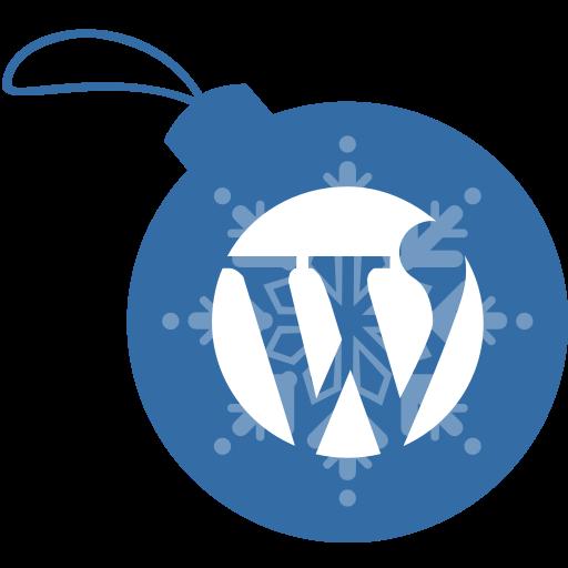ball, christmas, wordpress icon