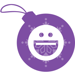 ball, christmas, messenger, yahoo icon