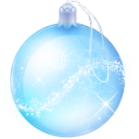 ball, christmas, glass icon