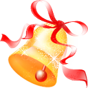 christmas, jingle icon