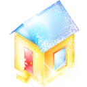 christmas, house, xmas icon