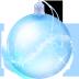 ball, christmas, glass icon