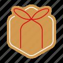 christmas, cookie, food, giftbox, gingerbread, sweet, xmas