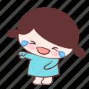 emoji, laugh, roar, smile, sticker, tear, xuxu icon