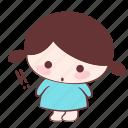 astonish, confusion, doubt, emoji, sticker, surprised, xuxu icon