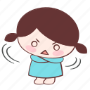 sticker, annoyed, xuxu, mad, irritated, furious, emoji icon