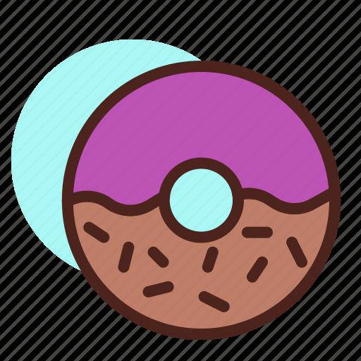 Donut, sugar, sweet icon - Download on Iconfinder