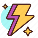 electric, lighting, star, thunder, weather