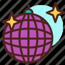 ball, disco, party