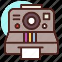 camera, photo, polaroid
