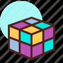 cube, outsmart, rubik, strategy