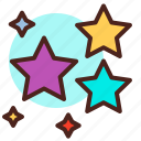 science, space, stars icon