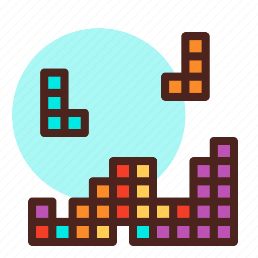 Game Patience Tetris Icon Download On Iconfinder