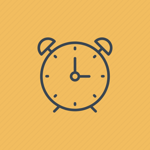 alarm, clock, time, timer icon