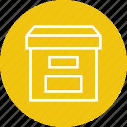 archive, box, data, file, storage icon