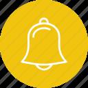 alarm, alert, bell, instrument, music, musical icon