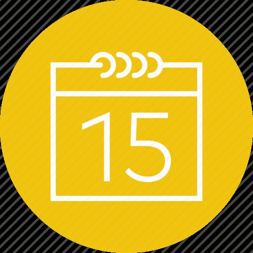 administration, calendar, calendars, date, interface, organization, time icon