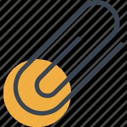 attach, attachment, material, office, school, tool icon