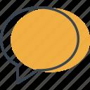 balloon, bubble, chat, message, multimedia, speech