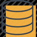 database, files, hosting, multimedia, network, storage, technology icon