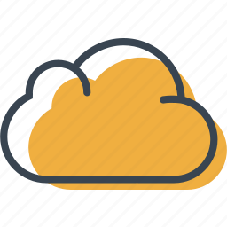 cloud, cloudy, computing, sky, weather icon