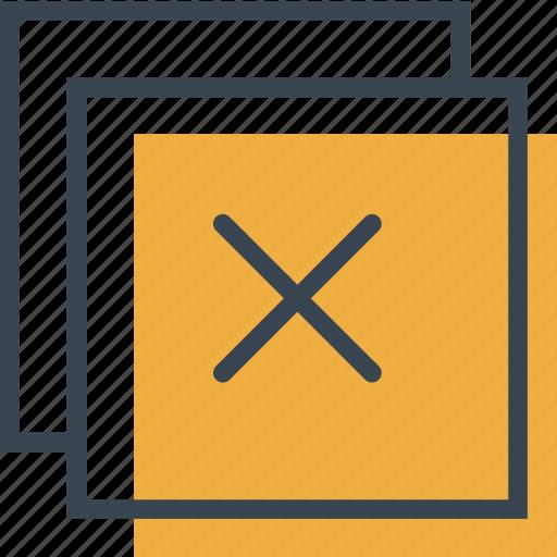 cancel, close, cross, error, forbidden, interface, signs icon