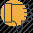 dislike, finger, gestures, hands, looser