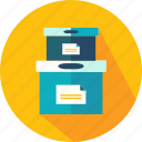 box, boxes, business, cardboard, delivery, package, packaging icon