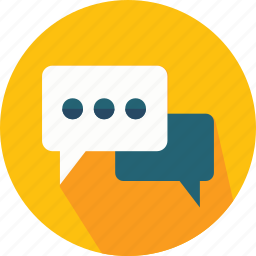 bubble, chat, chats, comment, interface, social, speech, talk icon