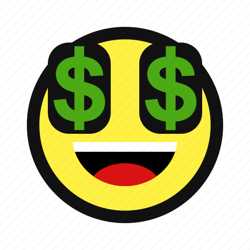 dollar, money, rich, sign, yellow icon