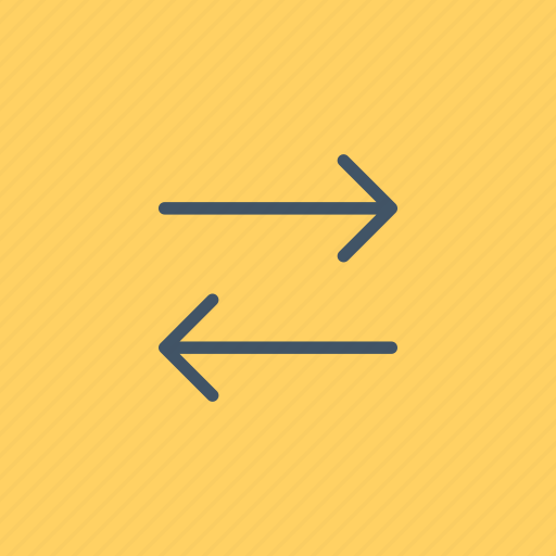 arrows, bidirectional, direction, interface, left, right, transfer icon