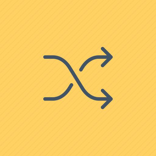 arrows, change, exchange, interface, multimedia, shuffle icon