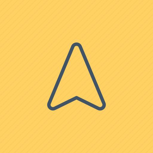 arrows, cursor, gps, interface, navigation, technology icon
