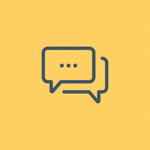 bubble, chat, communication, conversation, interface, multimedia, speech icon