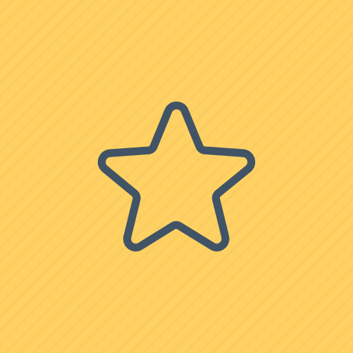 favorite, favourite, interface, rate, shapes, signs, star icon