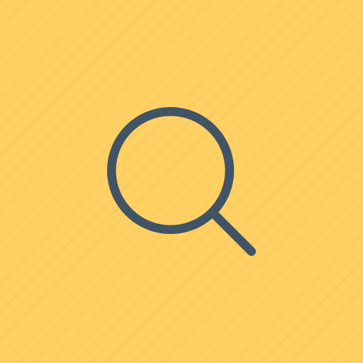 detective, glass, interface, loupe, magnifying, search, zoom icon