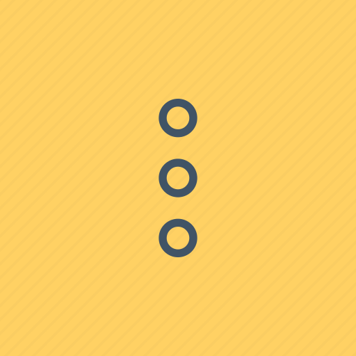 dots, interface, mark, more, punctuation, shapes, three icon