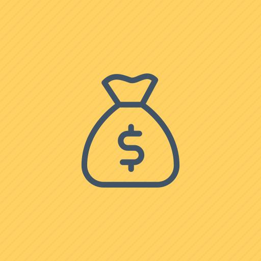 bag, bank, business, commerce, dollar, money icon