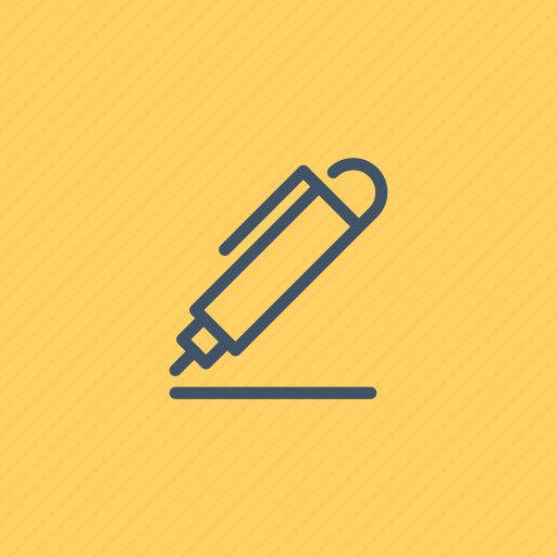 material, office, pen, pencil, school, writing icon