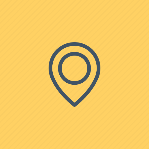 location, map, pin, placeholder, point, signs icon