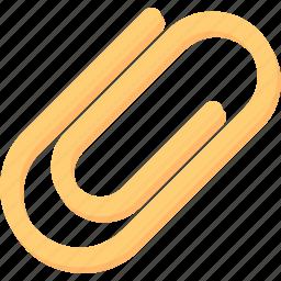 attach, clip, miscellaneous, multimedia, option, paperclip icon