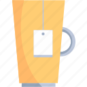 coffee, cup, drink, food, mug, restaurant, tea icon