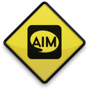 097642, 102765, aim, logo, square