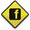 facebook, logo, sign, square icon
