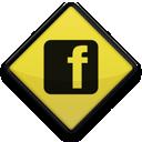facebook, logo, sign, square