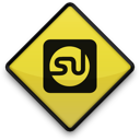 097728, 102851, logo, square, stumbleupon icon