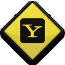 097746, 102869, logo, square, yahoo icon