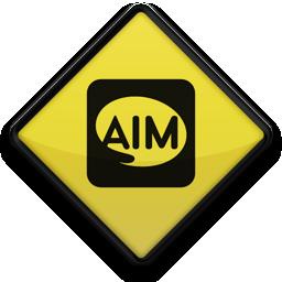 097642, 102765, aim, logo, square icon