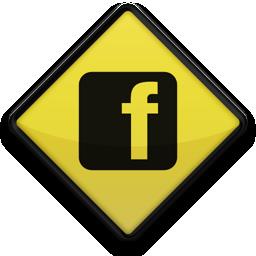 facebook, logo, sign, square icon